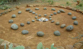 Gaia speaks ….. Today is the most particular date of March 30, 2014 Medicine-wheel