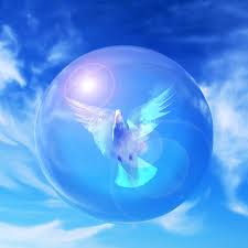 dove inside sphere