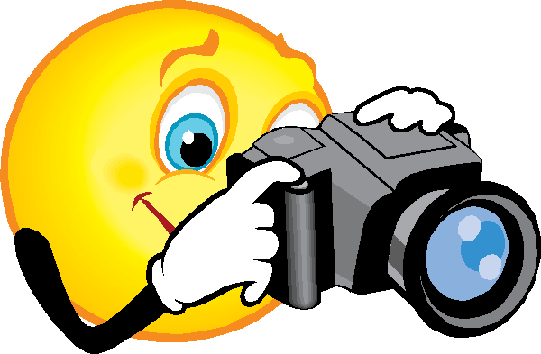 Image result for smile for the camera clip art