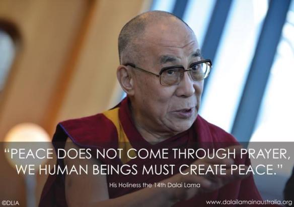 Peace-Dalailama